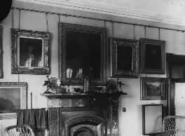 View of interior at John Ruskin's home, by John McClelland - NPG x12195