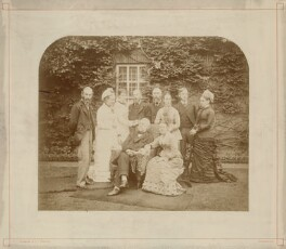 Airy family group, by William Thomas Morgan & Co - NPG x1223