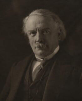David Lloyd George, by Olive Edis - NPG x12475