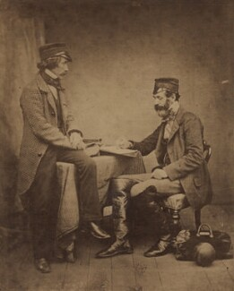 'The Sanitary Commissioners', by Roger Fenton - NPG x12537