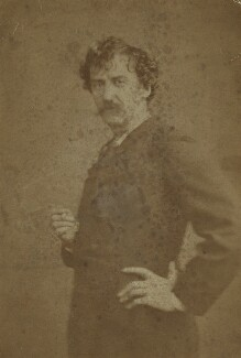 James Abbott McNeill Whistler, by London Stereoscopic & Photographic Company - NPG x12544