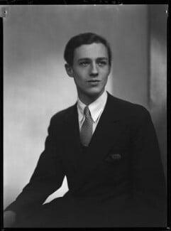 Colin Christopher Paget Tennant, 3rd Baron Glenconner, by Lenare - NPG x1255