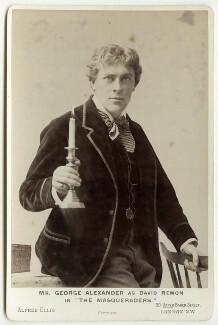 Sir George Alexander (George Samson) as David Remon in 'The Masqueraders', by Alfred Ellis, April 1894 - NPG x12556 - © National Portrait Gallery, London
