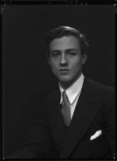 Colin Christopher Paget Tennant, 3rd Baron Glenconner, by Lenare - NPG x1256
