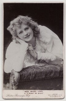 Mabel Love in 'A Modern Don Quixote', by London Stereoscopic & Photographic Company - NPG x12571