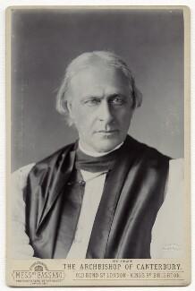 Edward White Benson, by Alexander Bassano - NPG x12578
