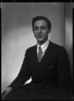 Colin Christopher Paget Tennant, 3rd Baron Glenconner, by Lenare - NPG x1258