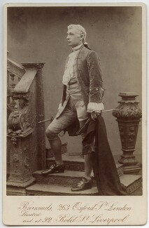 Sir Charles Wyndham (Charles Culverwell) as David Garrick in 'David Garrick', by Barrauds Ltd - NPG x12580