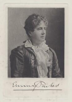 Emma Parker, by Walker & Boutall, after  Elliott & Fry - NPG x12653
