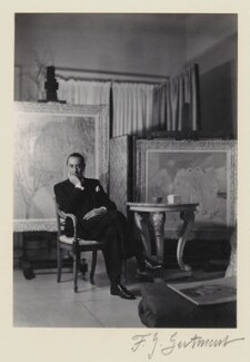 Glyn Warren Philpot, by Francis Goodman, 1937 - NPG x12738 - © National Portrait Gallery, London