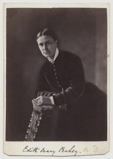 (Mary) Edith Pechey-Phipson, by Frank Meadow Sutcliffe - NPG x12740