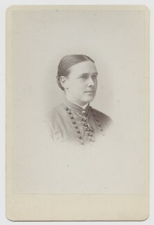 (Mary) Edith Pechey-Phipson, by Thomas Fall - NPG x12742