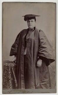 (Mary) Edith Pechey-Phipson, by Bourne & Shepherd - NPG x12743