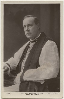 Bertram Pollock, by Carl Vandyk, published by  Rotary Photographic Co Ltd - NPG x12754