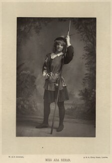 Ada Rehan as Rosalind in 'As You Like It', by W. & D. Downey, published by  Cassell & Company, Ltd, published 1891 - NPG  - © National Portrait Gallery, London