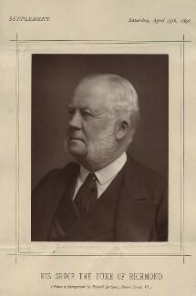 Charles Henry Gordon-Lennox, 6th Duke of Richmond, 6th Duke of Lennox and 1st Duke of Gordon, by James Russell & Sons, published 25 April 1891 - NPG x12806 - © National Portrait Gallery, London