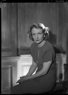 Jean Salmon (née Maitland-Makgill-Crichton), Baroness Salmon, by Lenare - NPG x1287