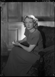Jean Salmon (née Maitland-Makgill-Crichton), Baroness Salmon, by Lenare - NPG x1288