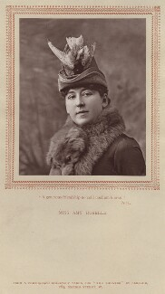 Amy Roselle (Mrs Arthur Dacre), by Herbert Rose Barraud, published by  Carson & Comerford - NPG x12881