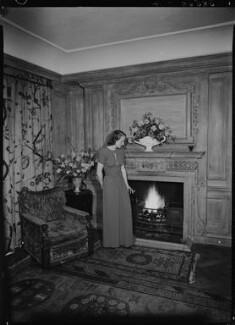 Jean Salmon (née Maitland-Makgill-Crichton), Baroness Salmon, by Lenare - NPG x1290