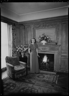 Jean Salmon (née Maitland-Makgill-Crichton), Baroness Salmon, by Lenare - NPG x1291