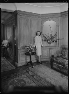 Jean Salmon (née Maitland-Makgill-Crichton), Baroness Salmon, by Lenare - NPG x1292