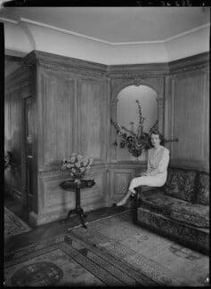 Jean Salmon (née Maitland-Makgill-Crichton), Baroness Salmon, by Lenare - NPG x1293