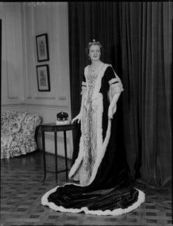 Sylvia Gwendoline Eva (née Maitland), Baroness Carew, by Navana Vandyk - NPG x129341