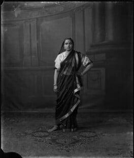 Chimnabai II, Maharani of Baroda, by Vandyk - NPG x129477