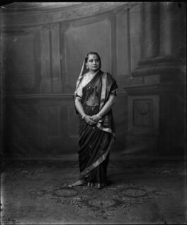 Chimnabai II, Maharani of Baroda, by Vandyk - NPG x129482