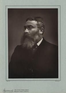 Sir Walter Besant, by Herbert Rose Barraud, published by  Richard Bentley & Son - NPG x12960