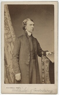 Archibald Campbell Tait, by Robert Jefferson Bingham - NPG x12971