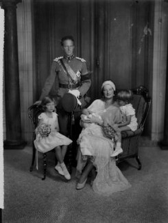 King Leopold III and family, by Vandyk, 28 June 1934 - NPG x130215 - © National Portrait Gallery, London