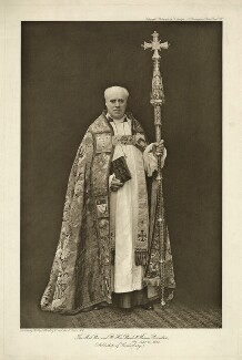 Randall Thomas Davidson, Baron Davidson of Lambeth, by Carl Vandyk, published by  The Regal Publishing Co, mid 1900s-early 1910s - NPG x13171 - © National Portrait Gallery, London