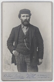 Keir Hardie, by Arthur Clegg Weston, circa 1892 - NPG x13173 - © National Portrait Gallery, London