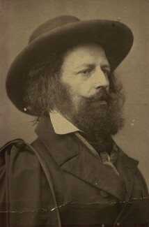 Alfred, Lord Tennyson, by James Mudd - NPG x13232