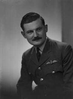 David William Anthony Blythe MacPherson, 2nd Baron Strathcarron, by Lenare - NPG x1327