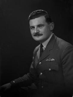 David William Anthony Blythe MacPherson, 2nd Baron Strathcarron, by Lenare - NPG x1328