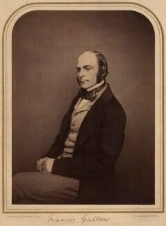 Sir Francis Galton, by Maull & Polyblank - NPG x13287