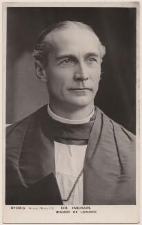 Arthur Foley Winnington-Ingram, published by Rotary Photographic Co Ltd, after 1901 - NPG x13310 - © National Portrait Gallery, London
