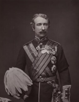 Garnet Joseph Wolseley, 1st Viscount Wolseley, possibly by Maull & Co, mid 1870s - NPG x13322 - © National Portrait Gallery, London