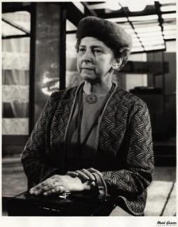 Elisaveta Fen (Lydia Jackson (née Lidiia Vitalevna Zhiburtovich)), by Mark Gerson - NPG x13369