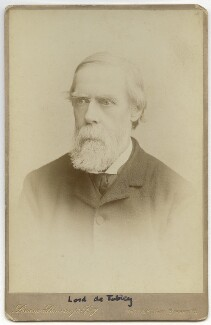 John Byrne Leicester Warren, 3rd Baron De Tabley, by London Stereoscopic & Photographic Company - NPG x13392