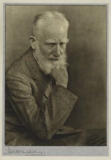 George Bernard Shaw, by Dorothy Wilding - NPG x13456