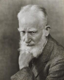 George Bernard Shaw, by Dorothy Wilding - NPG x13458