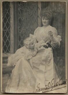 Hon. Maynard Greville; Frances Evelyn ('Daisy') Greville (née Maynard), Countess of Warwick, by Alice Hughes - NPG x13496