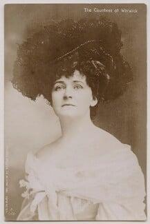Frances Evelyn ('Daisy') Greville (née Maynard), Countess of Warwick, by Reginald Fellows Willson - NPG x13499