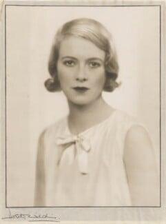 Sylvia (née Hawkes), Lady Ashley, by Dorothy Wilding - NPG x13691