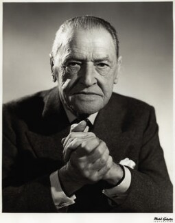 Somerset Maugham, by Mark Gerson - NPG x13769