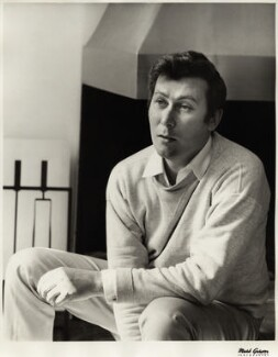 John Osborne, by Mark Gerson, May 1965 - NPG x13774 - © Mark Gerson / National Portrait Gallery, London